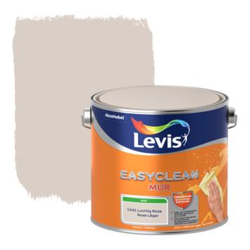 Levis EasyClean muur mat luchtroze 2.5l