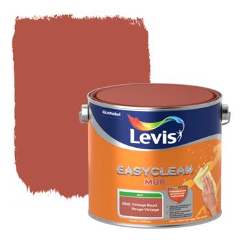 Levis EasyClean muur mat vintage rood 2.5l
