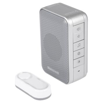 Honeywell series 3 deurbel met drukknop draadloos 150 meter grijs