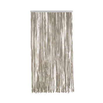 Livin'outdoor deurgordijn Tape alu rail grijs 230x100cm