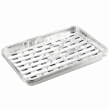 Jamestown aluminium grillbakjes barbecue 5 stuks