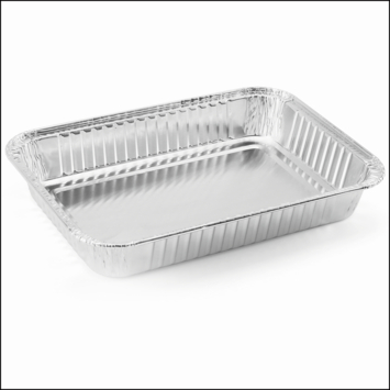 Jamestown kleine aluminium lekbakjes barbecue 10 stuks