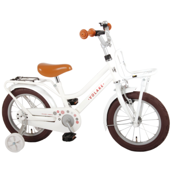 Kinderfiets Liberty Girl White 14 inch