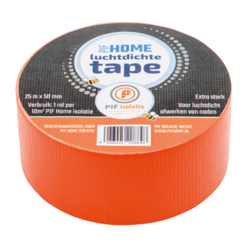 PIF Home luchtdichte tape 60 mm rol van 25 m