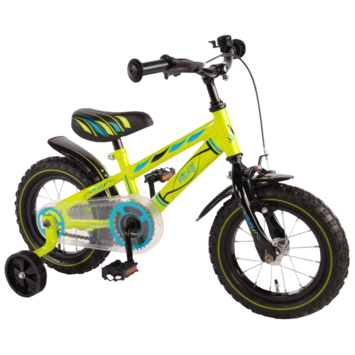 Kinderfiets Electric Green 12 inch