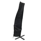 Housse pour parasol déporté noir Ø300 cm