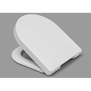 Cedo Tropea Beach wc bril wit softclose D-vorm thermoplast