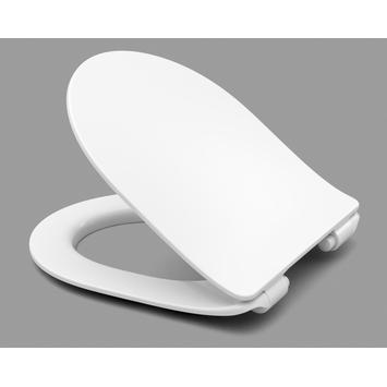 Cedo Delray wc bril wit softclose D-vorm duroplast