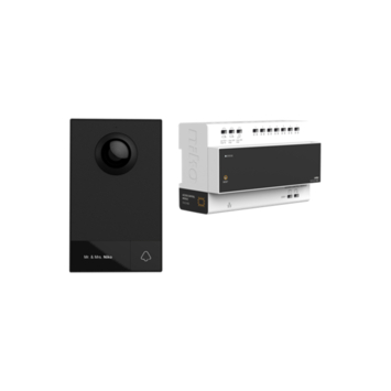 Niko videofoon kit 2-draads incl. controller en buitenpost