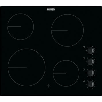 Zanussi table de cuisson vitrocéramique ZHRN640K