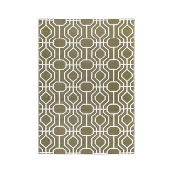 Buitentapijt Shantou Groen patroon 160x230 cm