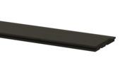 Planche à clins anthracite ± 1,7x13,5 cm, longueur ± 240 cm