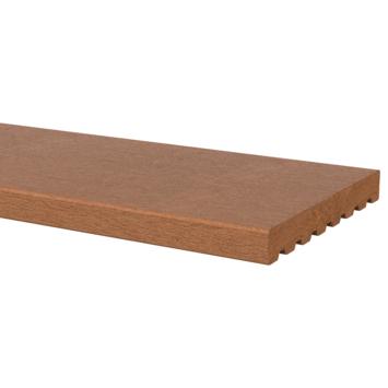 Vlonderplank hardhout glad ± 1,8x14,5 cm, lengte ± 180 cm
