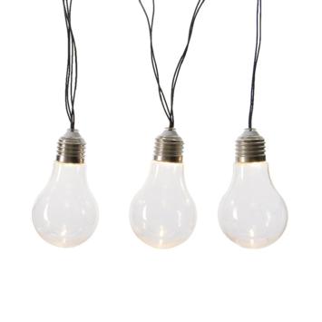LED solar lichtsnoer 10 lichts