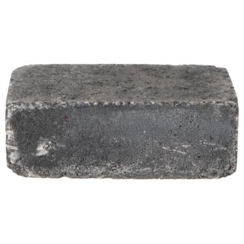 Trommelsteen Antraciet 21x14x7cm