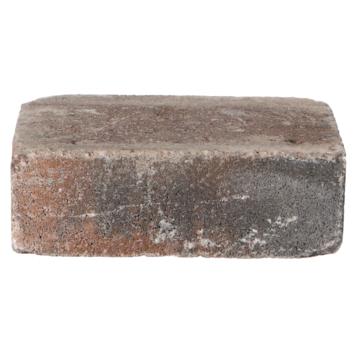 Trommelsteen Bruin/Zwart 21x14x7 cm