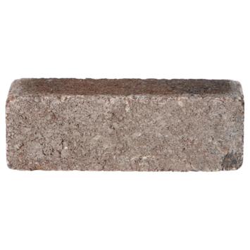 Trommelsteen Dikformaat Bruin/Zwart 20x6,5x6,5 cm