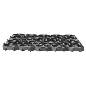 Grastegel grijs 56x38x3,1 cm