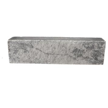 Stapelblok Beton grijs-zwart 60x15x12 cm