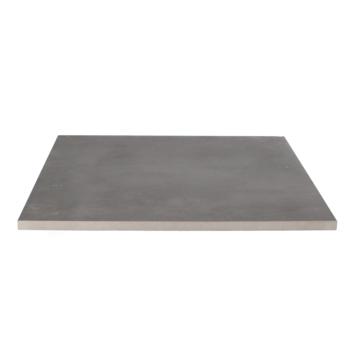 Keramische Terrastegel Kerastrada Betonlook Antraciet 60x60x2 cm - 2 tegels / 0,72 m2