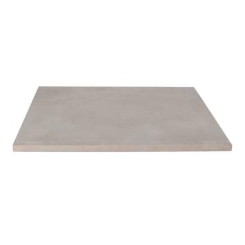 Keramische terrastegel Kerastrada betonlook grijs 60x60x2 cm - 2 tegels / 0,72 m2
