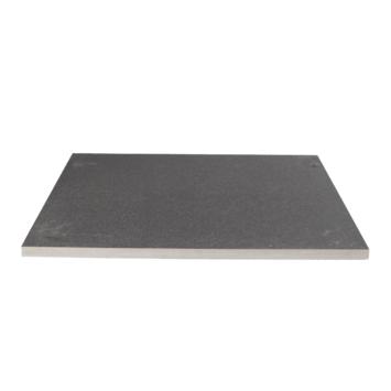 Terrastegel keramisch Kerastrada basalt antraciet 60x60x2 cm - 2 tegels / 0,72 m2