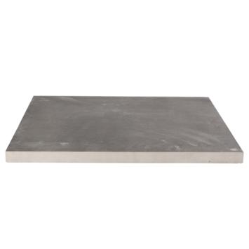 Terrastegel keramisch Kerastrada antraciet 60x60x3 cm