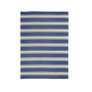 Buitentapijt Shantou blauw gestreept 160x230 cm