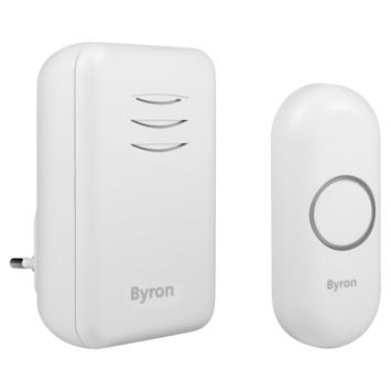 Byron draadloze deurbel plug-in DBY-22312 bereik 150 m