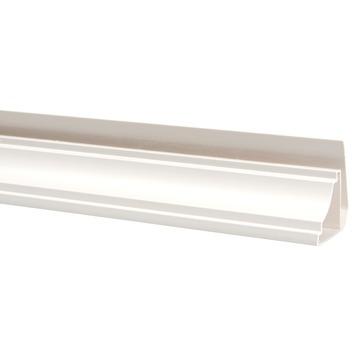 Angle extérieur fixe 270 cm blanc crème