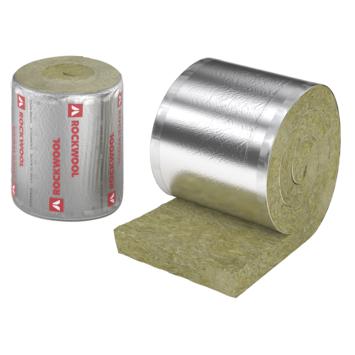 Matelas de laine de roche Rockwool Rockroof Sidefix Base 600x60x8 cm 3,6 m² Rd=2