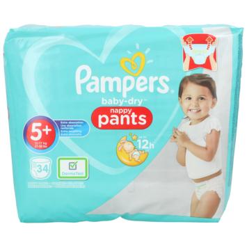 Pampers Pants Baby Dry maat 5 34 stuks