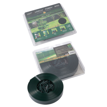 Clips 50 mm ral 6005 groen 100 stuks