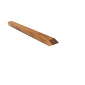 Piquet en bois dur ±6x6x100 cm