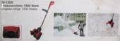 GAMMA sneeuwruimer elektrisch SS1300