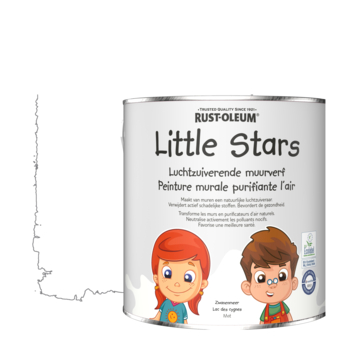 Rustoleum Little Stars Luchtzuiverende muurverf Zwanenmeer 2,5 L