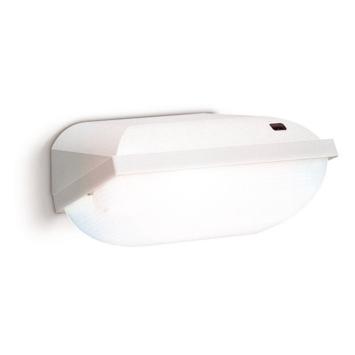Lampe pour l'extérieur avec capteur crépusculaire Philips blanc