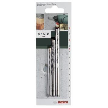 Bosch betonborenset 3-delig