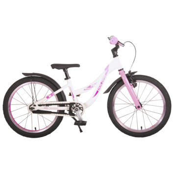 Kinderfiets Volare Glamour Parelmoer Roze 18 inch