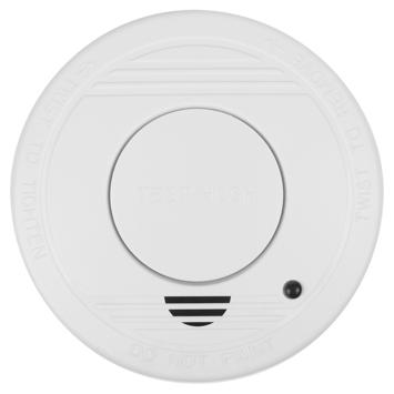 Détecteur de fumée optique RM250 Smartwares avec pile 1 an