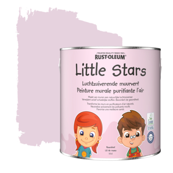 Rustoleum Little Stars Luchtzuiverende muurverf Rozenbed 2,5 L
