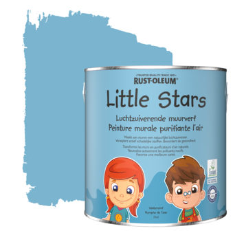 Rustoleum Little Stars Luchtzuiverende muurverf Waternimf 2,5 L