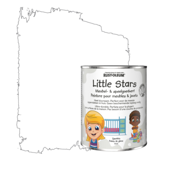 Rustoleum Little Stars Meubel- en speelgoedverf Ijspaleis 750 ml
