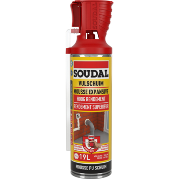 Mousse PU Soudal B3 500 ml