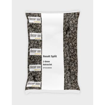 Split grind Basalt zwart 2-8 mm 20 kg