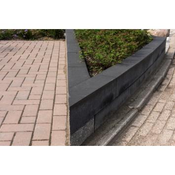 Stapelblok Beton Getrommeld Antraciet 60x15x15 cm