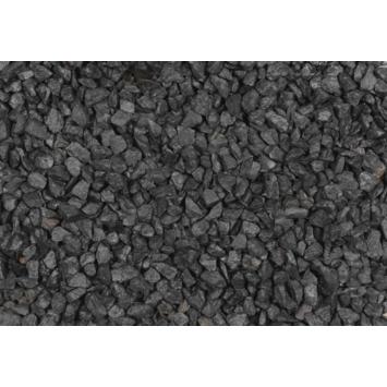 Split grind Basalt zwart/grijs 16-32 mm 20 kg