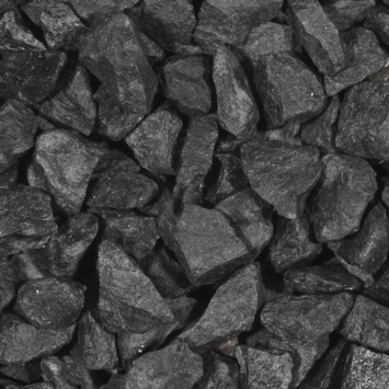 Split grind Basalt zwart 30-60 mm 20 kg