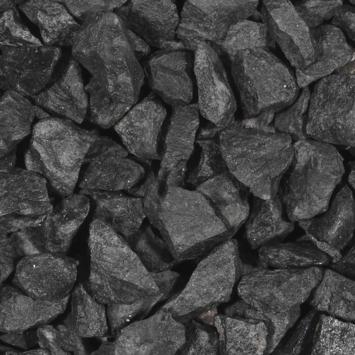Split grind Basalt zwart 30-60 mm bigbag 1000 kg