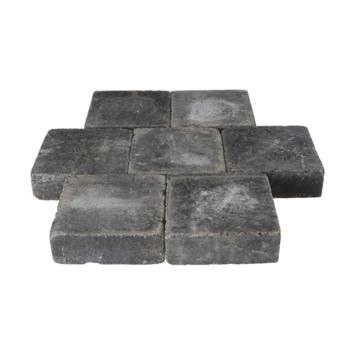 Trommelsteen Antraciet 21x21x7 cm